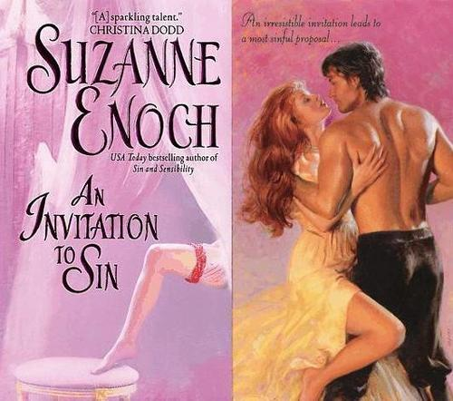 Historical Romance wallpaper possibly with attractiveness, a portrait, and skin titled Suzanne Enoch - An Invitation To Sin