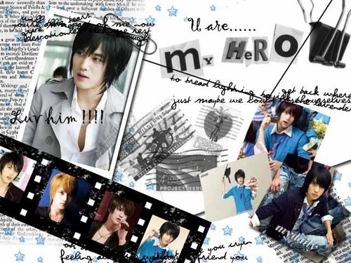 Hero Jae Joong Обои probably containing a sign, a newspaper, and Аниме called TVXQ<333