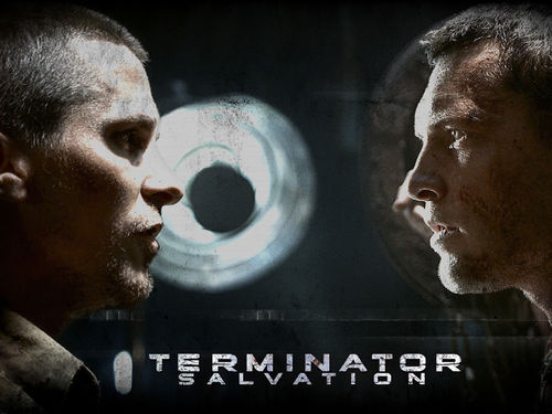 Sam Worthington wallpaper probably with a sign called Terminator: Salvation