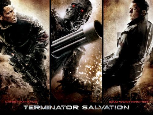 Sam Worthington wallpaper containing anime entitled Terminator: Salvation