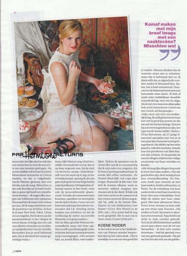 The Belgian magazine