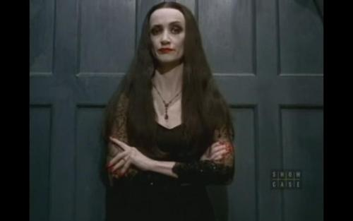 Morticia - unimpressed