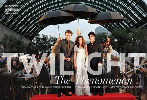 The Sexy Stars of Twilight Magazine!