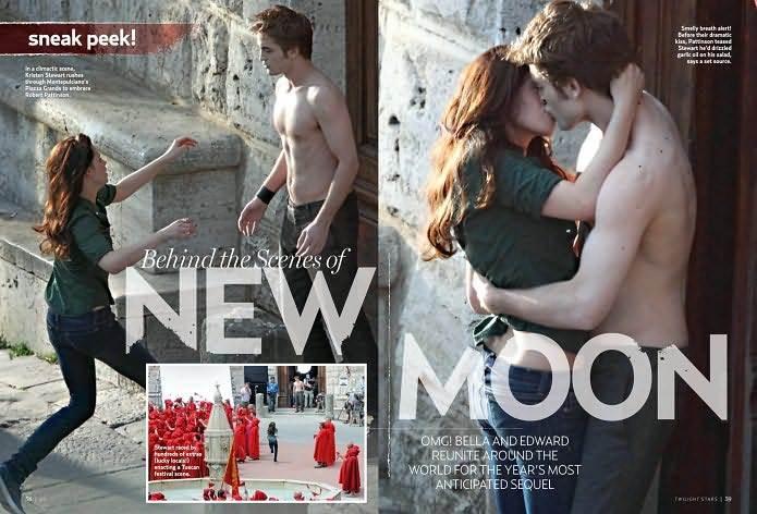 The Sexy Stars of Twilight Magazine
