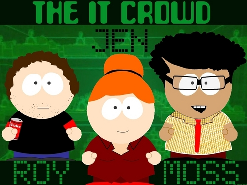 The IT Crowd wallpaper probably with anime titled The South Crowd