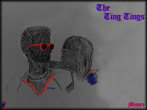 the ting tings kertas dinding entitled The Ting Ting