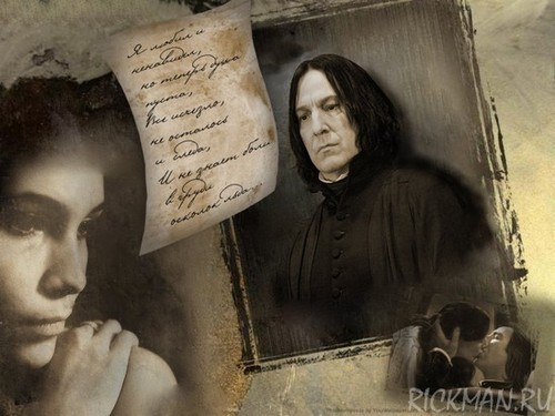 Thinking of Snape