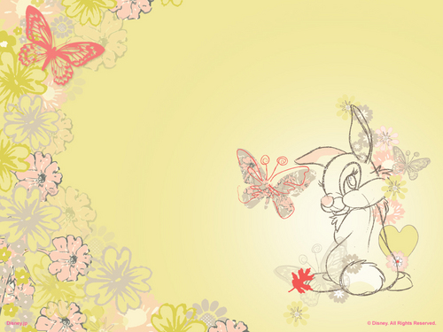 Bambi wallpaper entitled Thumper wallpaper