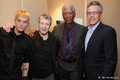 Toby Hemingway, Morgan Freeman, Tom Rosenberg, Fred Ward