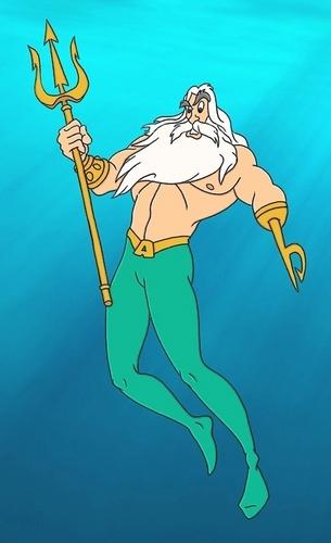 Triton as AquaMan