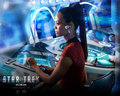 Uhura - ST 2009 - spock-and-uhura wallpaper
