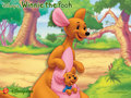 Winnie the Pooh, Kanga and Roo Wallpaper
