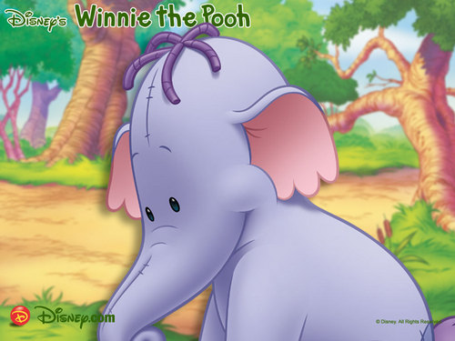 Disney wallpaper with Anime titled Winnie the Pooh, Lumpy wallpaper