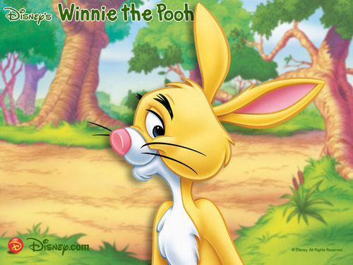 Disney wallpaper probably containing Anime called Winnie the Pooh, Rabbit wallpaper
