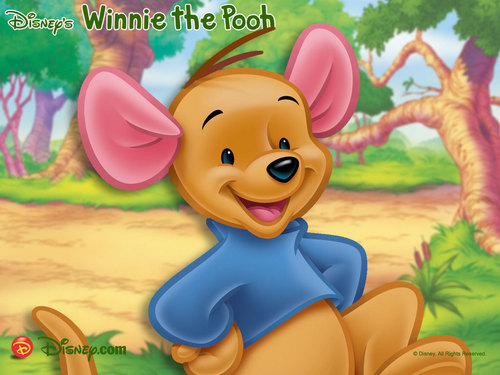Disney achtergrond possibly with anime called Winnie the Pooh, Roo achtergrond