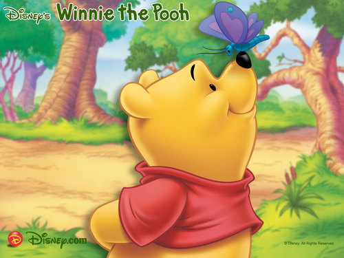 disney wallpaper titled Winnie the Pooh wallpaper