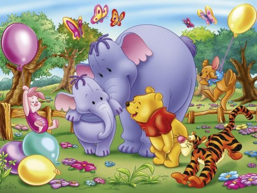 O Ursinho Puff wallpaper entitled Winnie the Pooh wallpaper