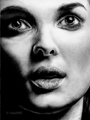 Winona Ryder Close-up