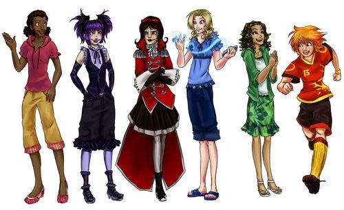 Witch Girls Art
