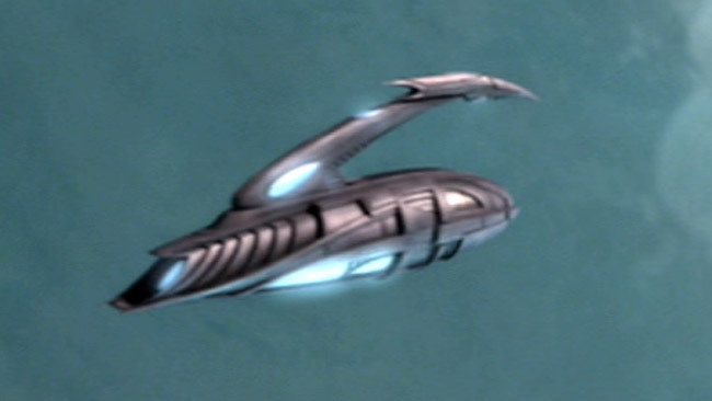 Xindi-Insectoids shuttle - ST:ENT