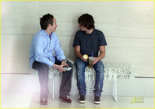 Zac and his manager
