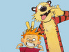 Calvin & Hobbes photo probably with anime entitled calvinandhobbes