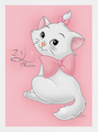 marie  - marie-aristocats-disney fan art