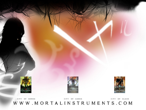 rekomendasi buku wallpaper probably with a portrait entitled mortal instruments