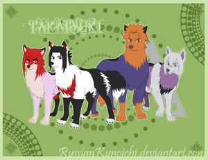 Naruto loups