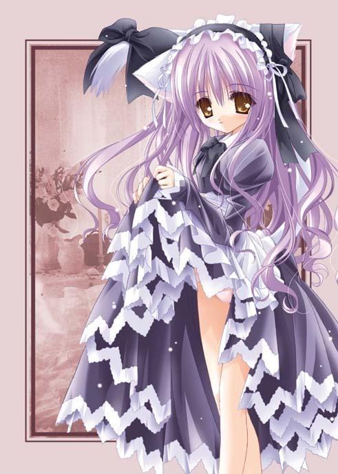 Imagens de Neko o/ Neko-anime-animal-girls-6630059-491-689