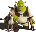 shrek and the gang - shrek photo