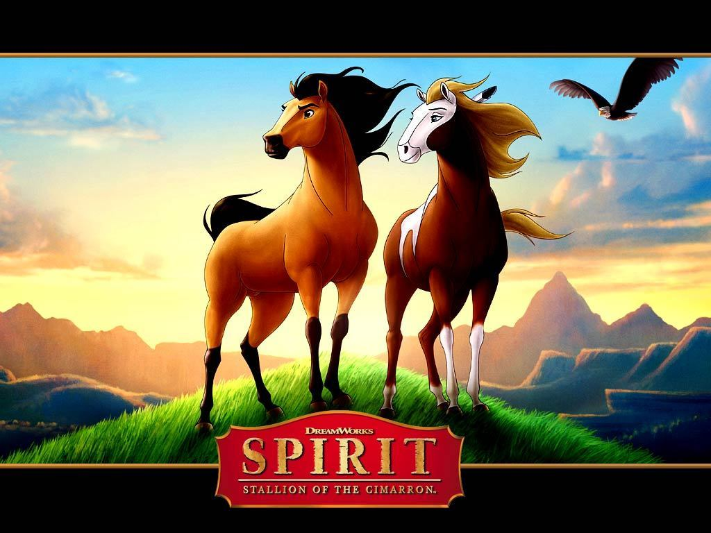 spirit and rain spirit stallion of the cimarron