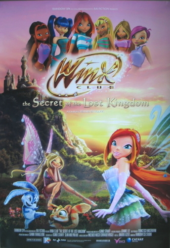 Winx Club Movie wallpaper containing anime titled winx movie poster
