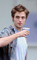 a little hot (the coffe of course ) nahh  rob too =-) - twilight-series photo