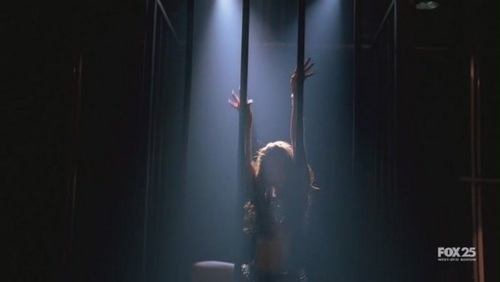 Dollhouse wallpaper titled 1x03-Stage Fright