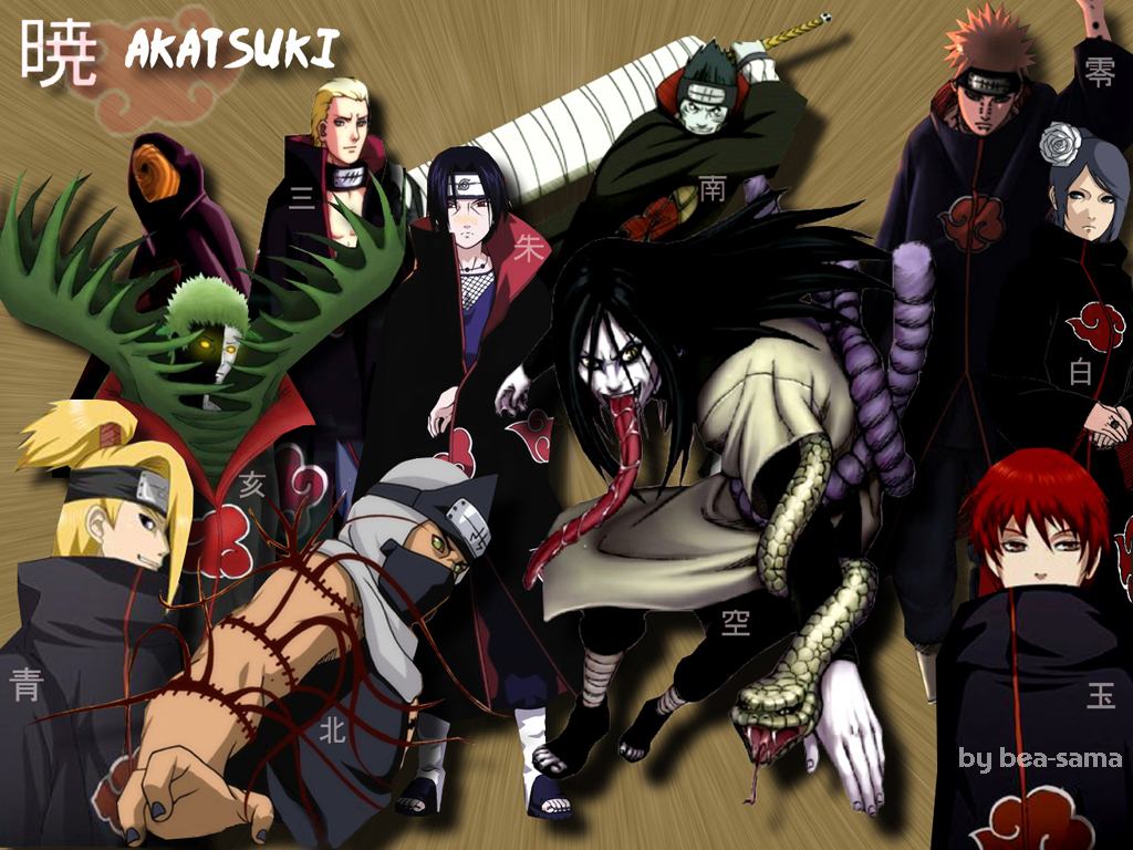 naruto akatsuki wallpaper