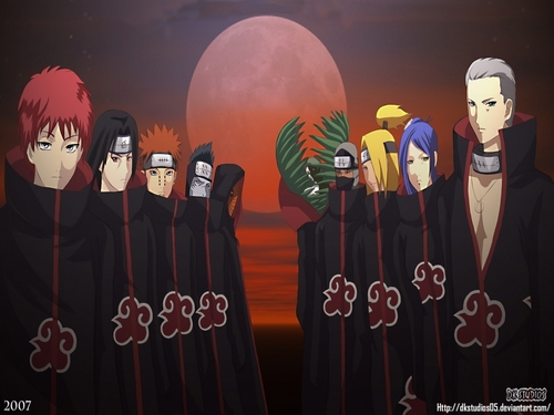 AKATSUKI WALLPAPERS - naruto Wallpaper