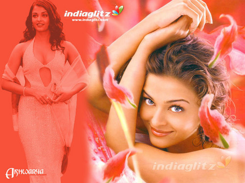 Aishwarya Rai wallpaper probably containing a bridesmaid and a portrait titled Aish<33
