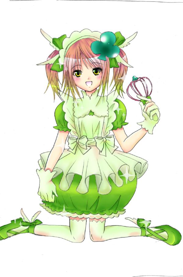 Amu+hinamori+amulet+clover