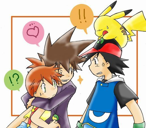 Ash ketchum images ash misty and gary wallpaper and background photos