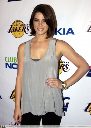 Ashley Greene @ The Lakers Official Championship Victory Celebration.
