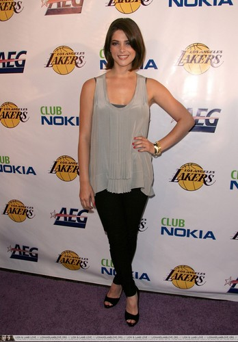 Ashley @ The Lakers Official Championship Victory Celebration