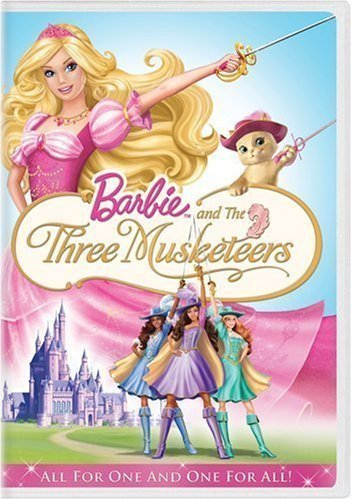 búp bê barbie and the Three Musketeers DVD Case