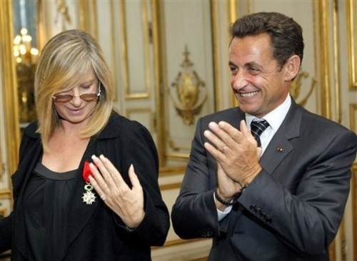 Barbra&Nicholas Sarkozy
