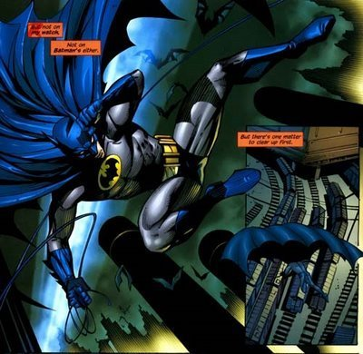 Battle for the cowl: tim drake's Batman