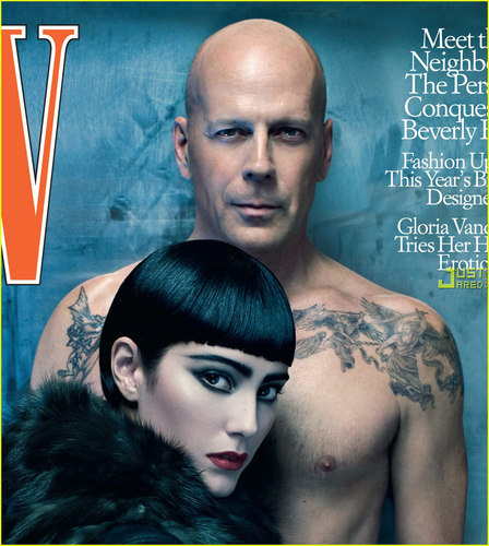 Bruce on W Magazine [July 2009] - bruce-willis Photo