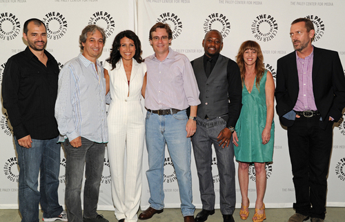 Cast at the Paley Center
