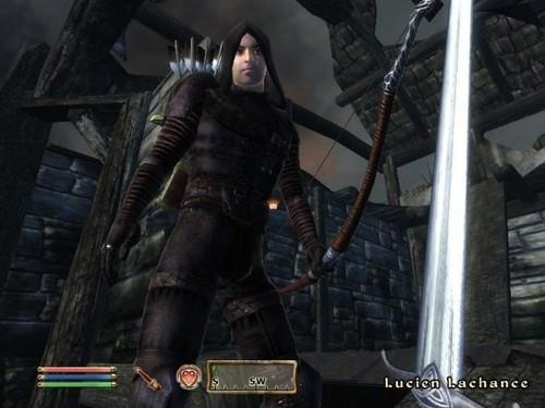 Oblivion (Elder Scrolls IV) fond d'écran containing a breastplate entitled Champion Speaker