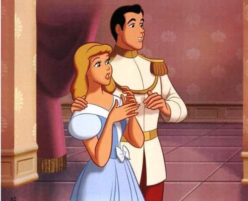 सिंडरेला and Prince Charming