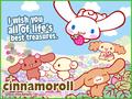 Cinnamoroll Treasures E-Card